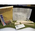 "Easy Built Models famous flyer Hurricane Model kit   20"" Wingspan"