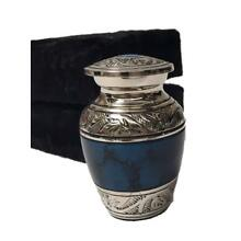 Memorial Keepsake Cremation Urn, Funeral Tokens, Human Ash Urns with Case-Small