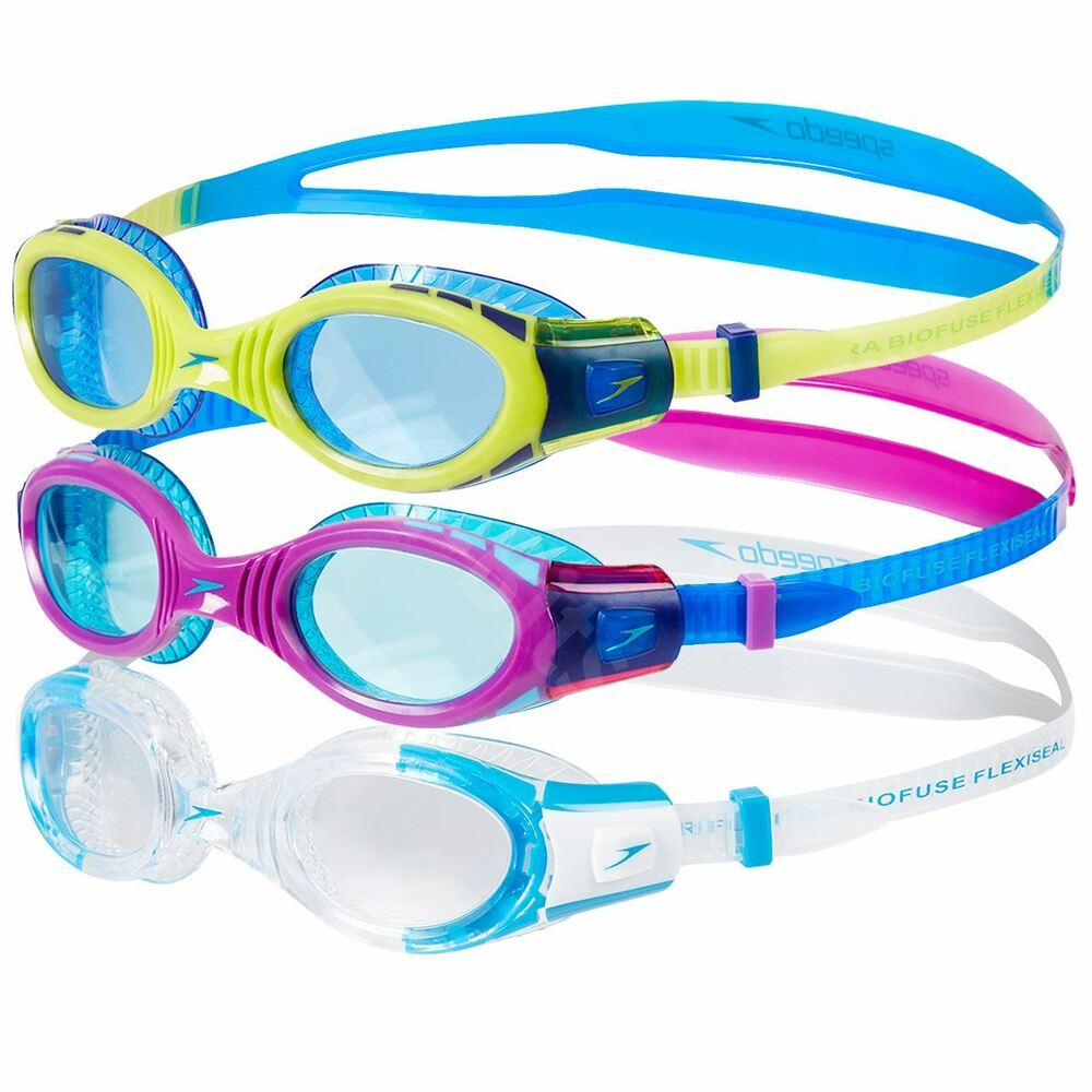 d5d0e465b70 Details about Speedo Futura Biofuse Flexiseal Junior Swimming Goggles UV  Anti-fog Age 6-14