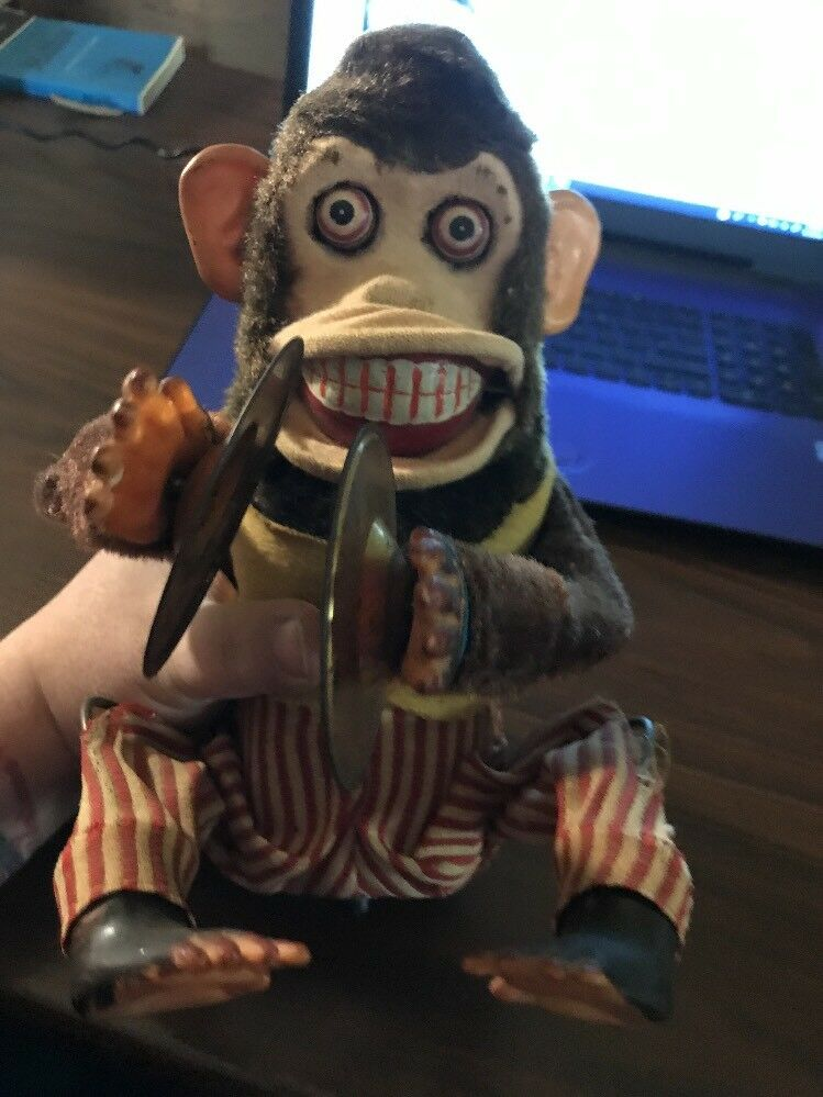 Musical Jolly Chimp Toy Storypawn Stars Daishin Cymbal Monkey