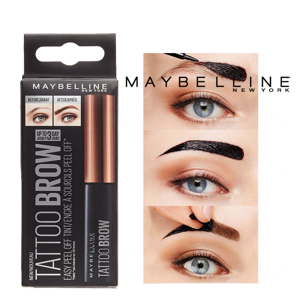 Maybelline Tattoo Brow Easy Peel Off Tint Gel Eyebrow Tint Peel 3