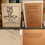 Allen Ginsberg Fall Of America 1st Ed. & Fall of America Wins A Prize #Beat Gen.