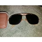 VINTAGE Sunglasses RAY BAN AVIATOR 1/10 Gold Filled ESTATE bausch and lomb