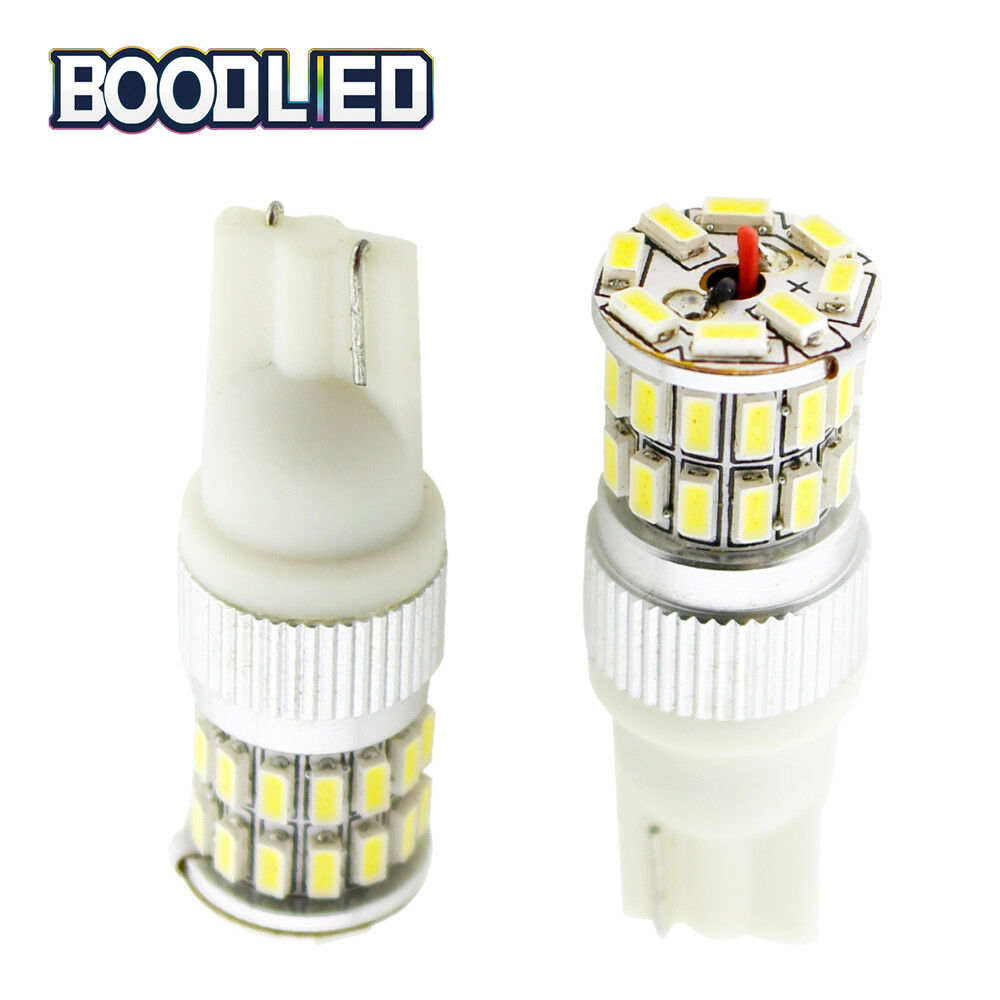 Night Lights 10x 360° T10 Led White 5smd 5050 W5w Bulbs 2825 Interior Replacement Side Lights Home & Garden