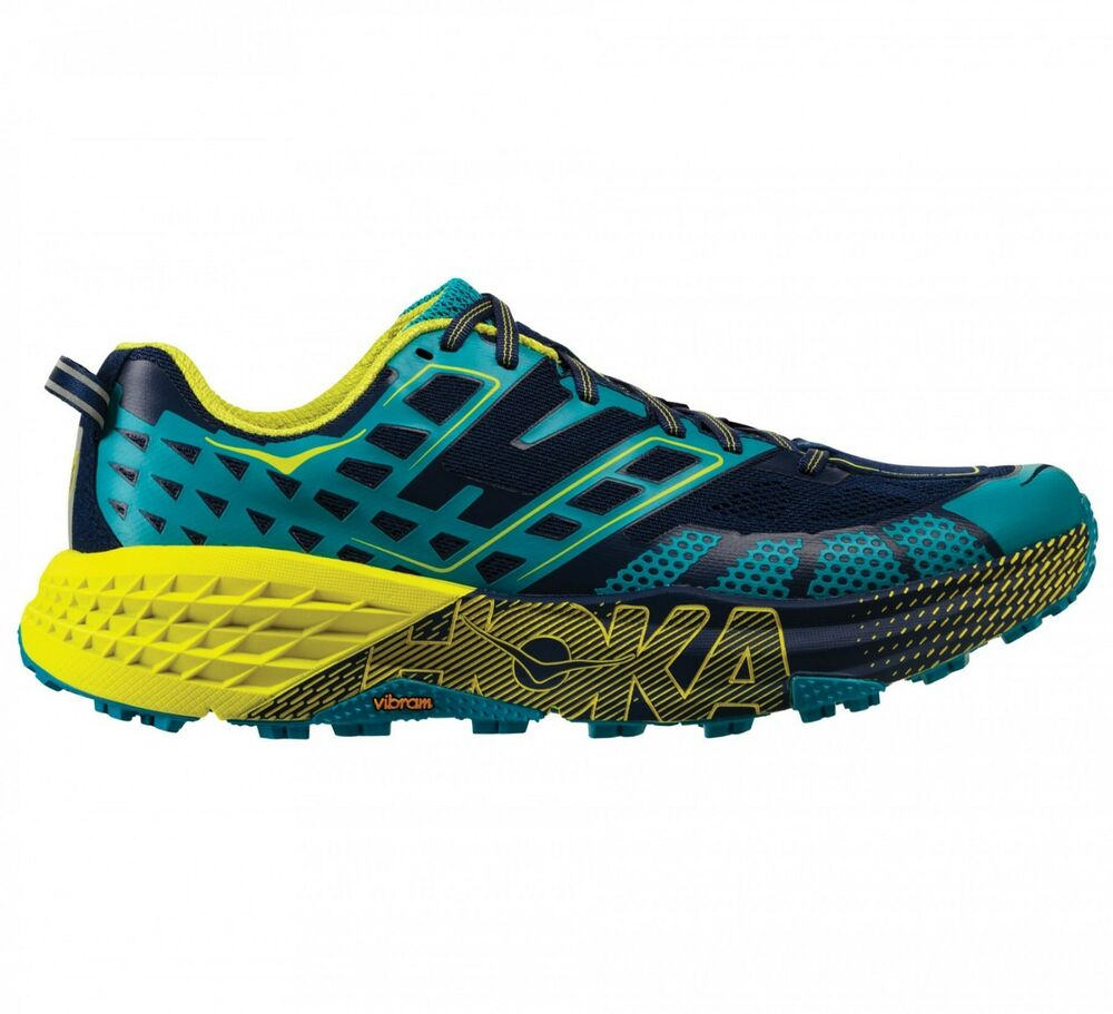 Details about Hoka One M SPEEDGOAT 2 Running Men s Shoes Blau 1016795 Scarpa  by road f19b214a4da