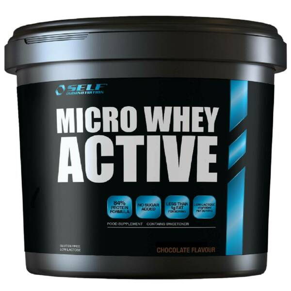 Self Micro Whey Active 2 kg Proteine Siero del Latte Isolate con VB 104