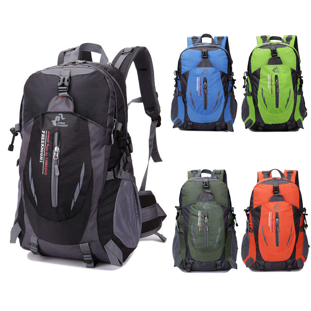 560e24679d Details about Travel Sports Camping Backpack Waterproof Hiking Laptop Bag  School Bag Nylon US