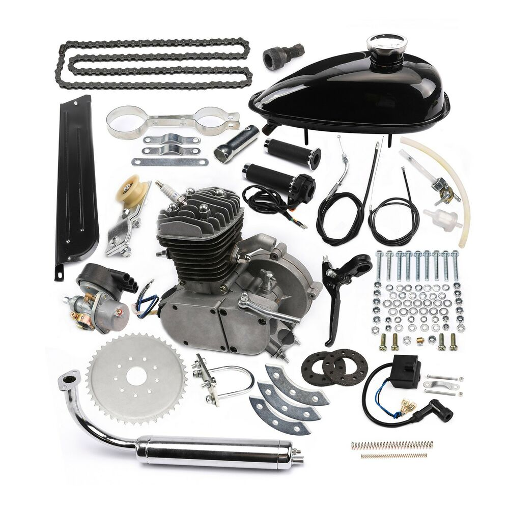 80cc 2 Stroke Cycle Engine Kit Fit 26 Or 28 Motorized Bike Bicycle