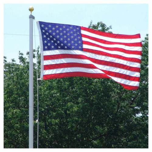 18-ft-steel-flagpole-w-3x5-usflag-2x3-state-flag-2-car-antenna-flags