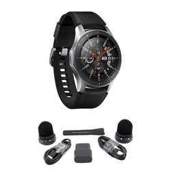 Kyпить BUNDLE Samsung Galaxy Bluetooth Watch 46mm Silver SM-R800NZSCXAR на еВаy.соm