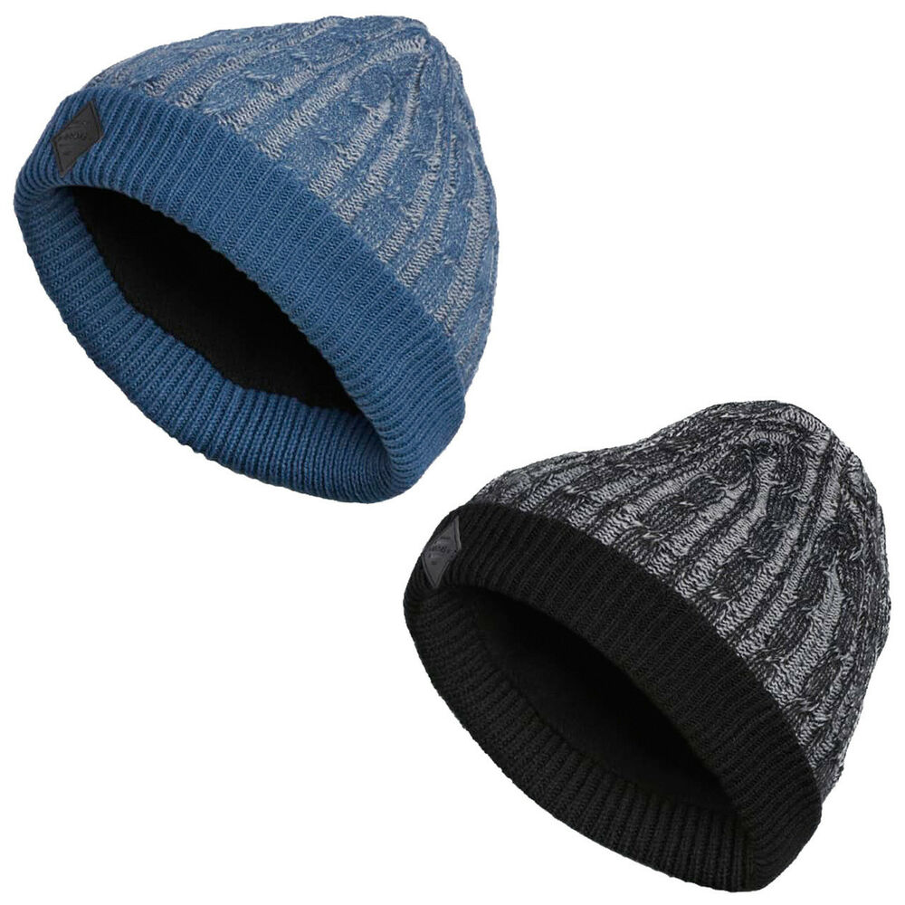 41b7391f Details about New 2018 ADIDAS GOLF CABLE KNIT WINTER BEANIE HAT