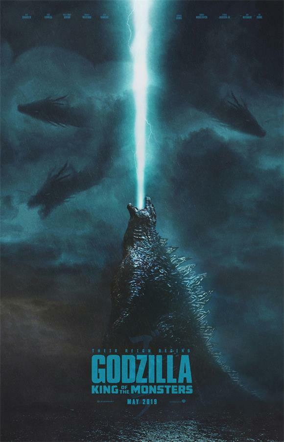 2019 Sci Fi Movie Godzilla King of the Monsters Art Poster ...