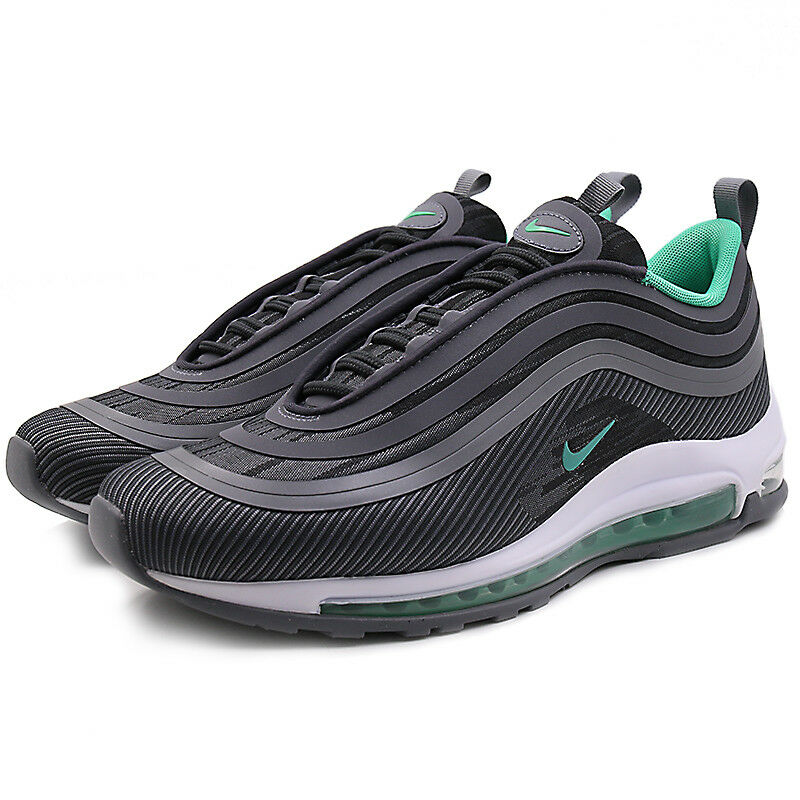 premium selection 95b6f 23b2d Nike Mens Air Max 97 Ultra UL 17 Anthracite Menta Grey Green Running  918356-009