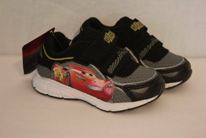 Details about Disney Cars Toddler Boys Tennis Shoes Size 5 Sneakers Race  Car Movie 95 McQueen 672bd138a