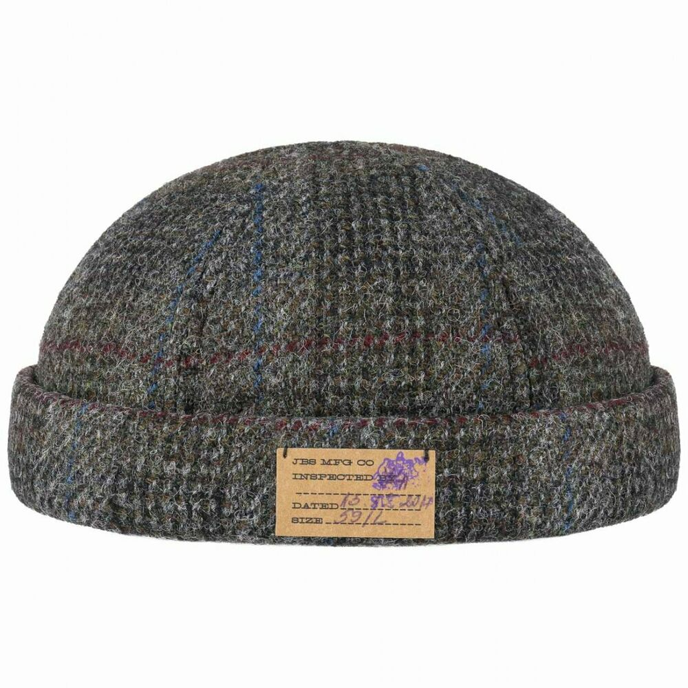 f50d0c795c48f Details about Stetson Harris Tweed Vangordon Docker Hat Men Winter hats mens  beanie