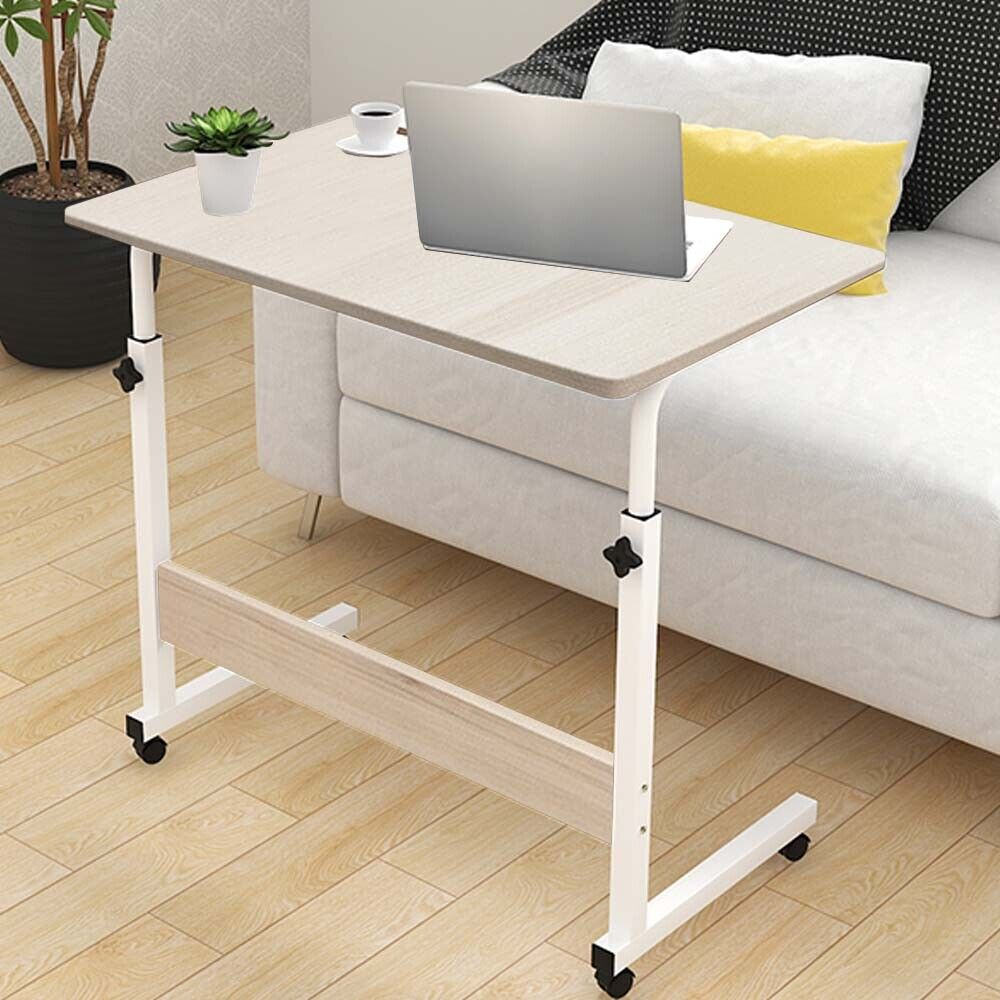 Details About Modern Wooden Table Computer Laptop Tab Desk Study Home Bedroom Office Workbench