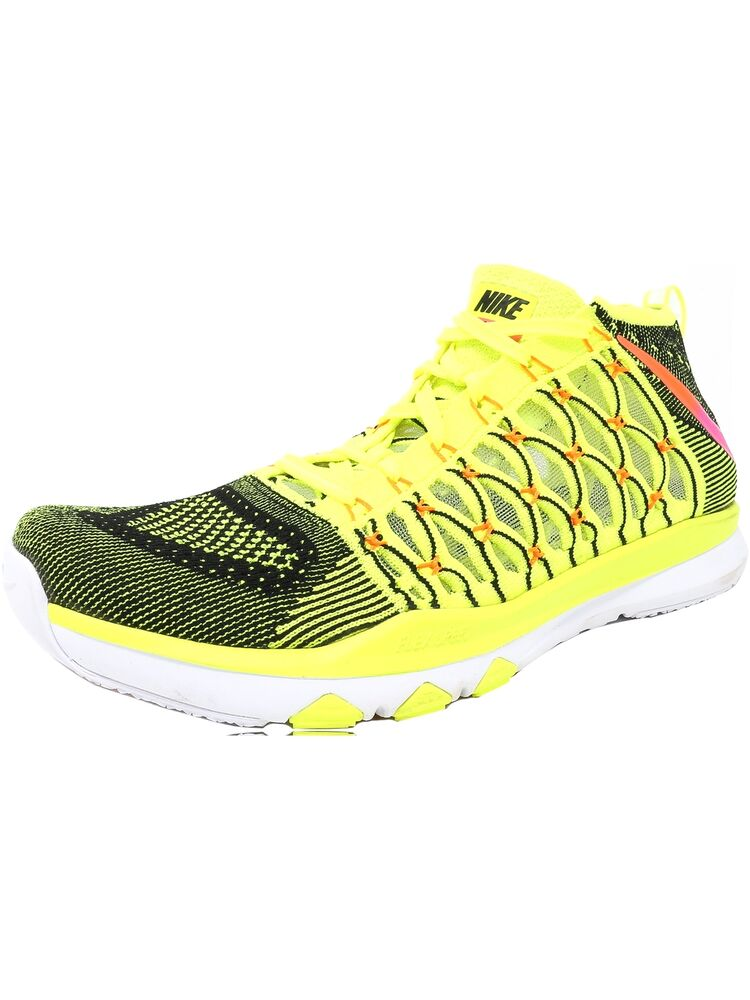 b125a47105e6 Details about Nike Men s Train Ultrafast Flyknit Ankle-High Fabric Running  Shoe