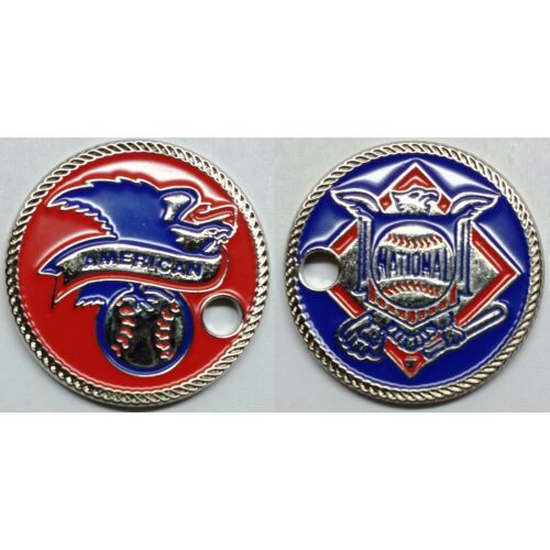 only-50-sets-made-american-national-league-logos-pathtag-coin-mlb-series-