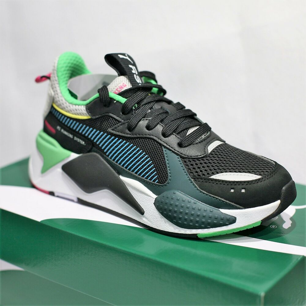 67d9a0caa111 Details about New PUMA RS-X Toys Athletic Shoes - (369449-01) BRAND NEW W   BOX and TAG