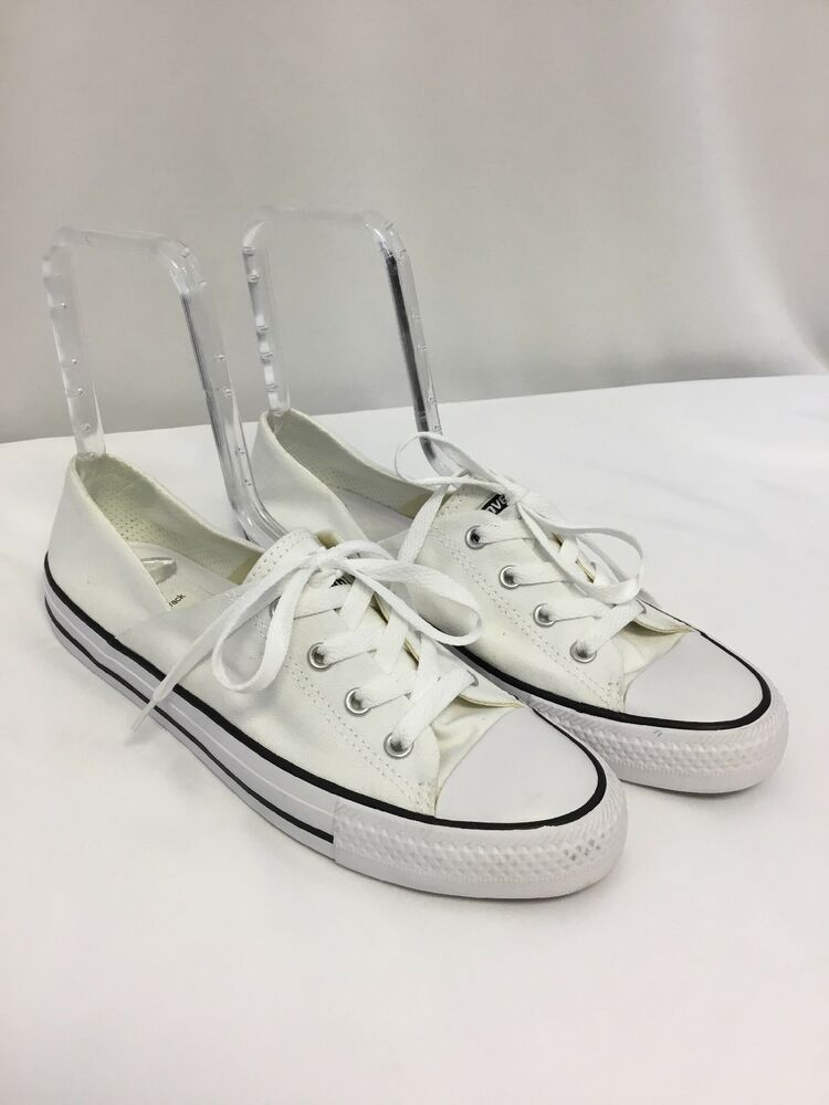 828d8a09b0b Details about Converse Chuck Taylor All Star Women s Coral Oxford Sneaker  White SIZE 9