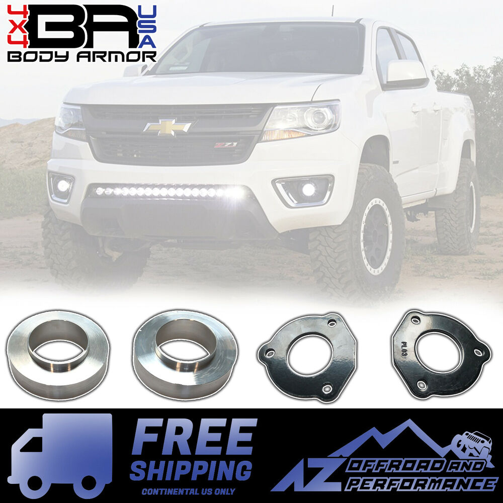 2 5 Front Lift Kit For 2015 2019 Chevy Colorado Gmc: 2015-2018 Chevrolet Colorado 2.5in Front