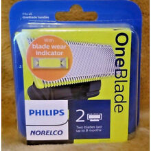 Philips Norelco OneBlade Replacement Blade, 2 Count , QP220/80, Free Shipping