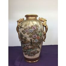 ANTIQUE Japanese Royal Satsuma VASE 8