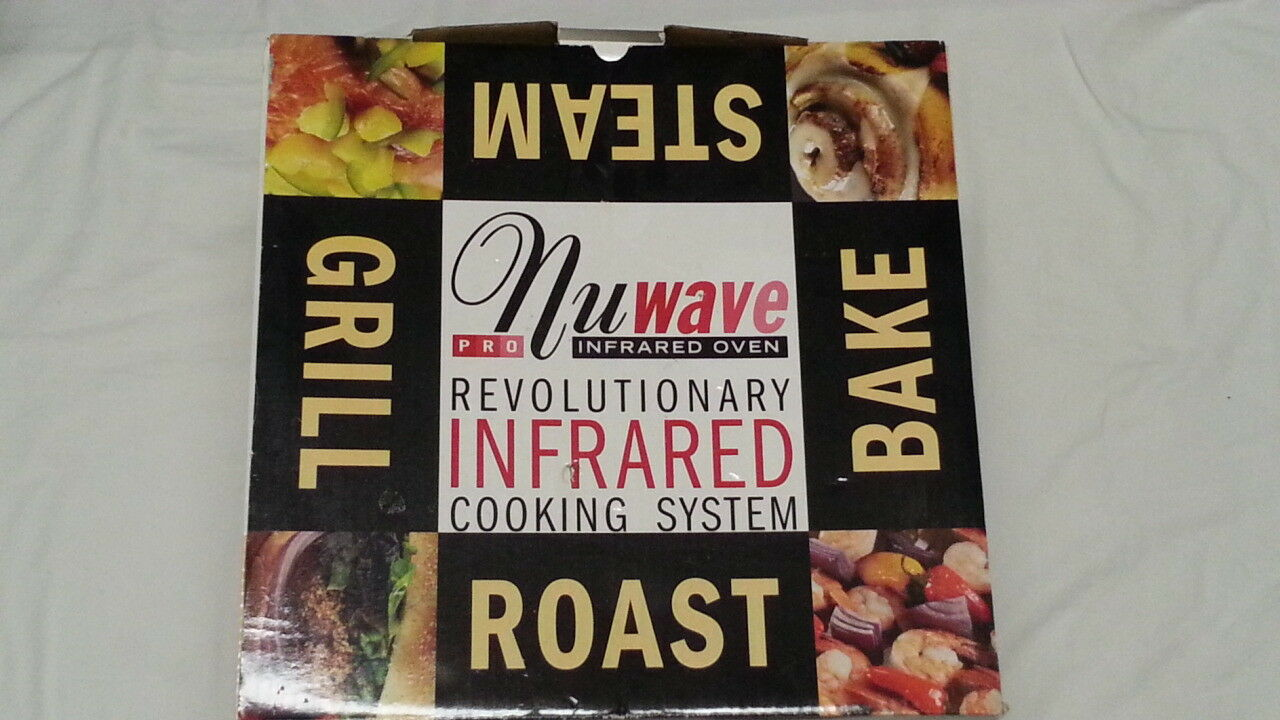... UPC 652185206533 product image for Nuwave Pro Plus Infrared Tabletop  Oven Red Model W/ Manual ...