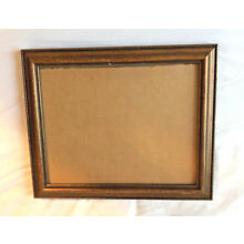 1 Beautiful Red Gold Frame Professional Family Metal 8x10
