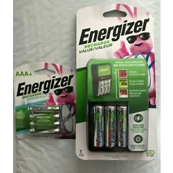 Kyпить Energizer Recharge Value Charger with 4 AA and 4 AAA rechargeable batteries(New) на еВаy.соm