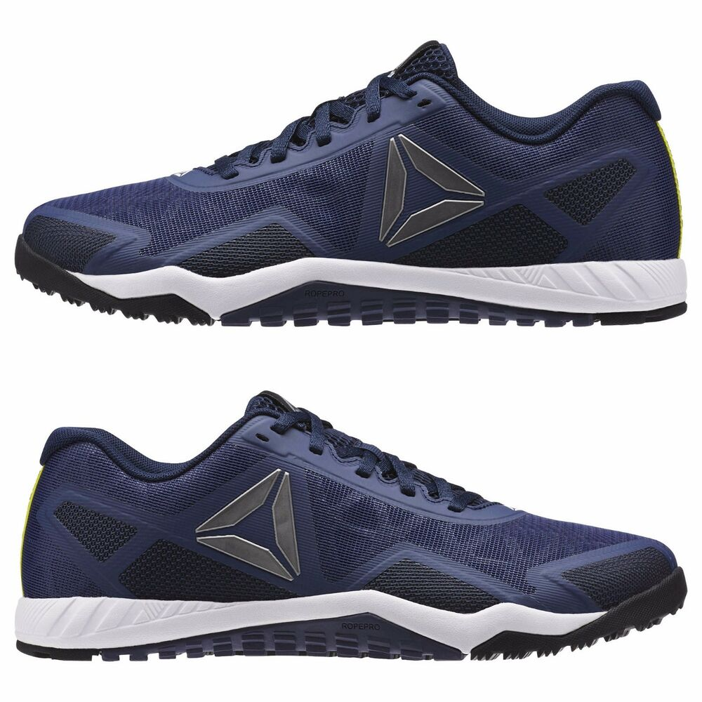 29b6e4f754f Details about REEBOK MENS BLUE SHOES ROS WORKOUT TR 2.0 CROSSFIT TRAINING  AR2977 GYM US 9.5