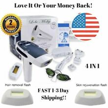 Laser IPL Home Pulsed Light Painless Safe At Home Permanent Hair Removal Device