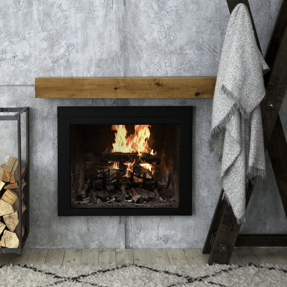 Dogberry Collections Modern Farmhouse Fireplace Shelf Mantel