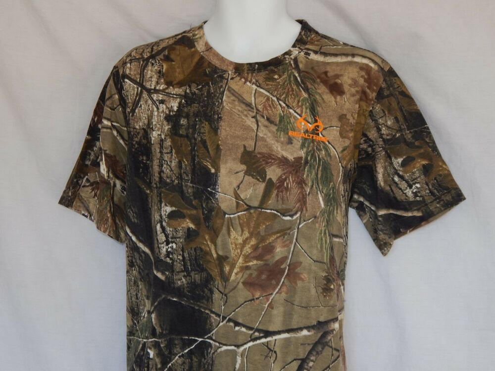 6356e004 Details about NEW Realtree AP Camo Short Sleeve T Shirt Camouflage Outdoor  Hunting Mens Sizes