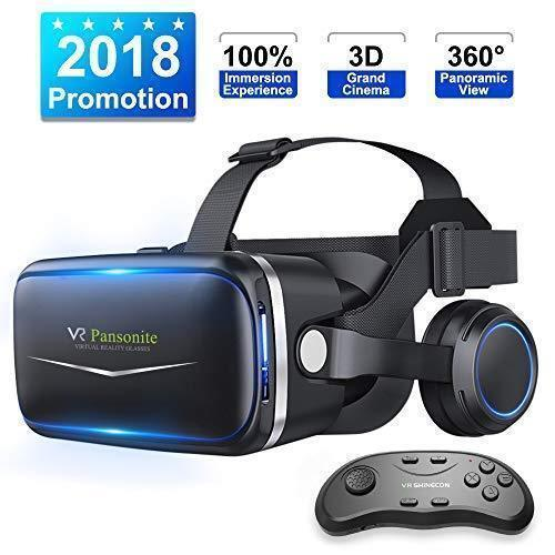 f9d6f11f8a93 Details about Brand New Pansonite VR Headset W  Remote Controller 3d  Glasses Virtual Reality