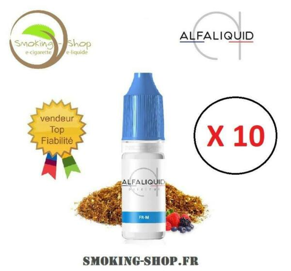 ALFALIQUID FR-M - lot 10 x 10 ml - 3 mg