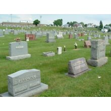 2 Side by Side Burial Plots