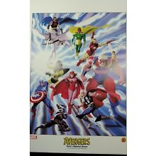 avengers dynamic forces lithograph