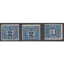 Canada Excise Tax stamps.    [Lot 801]