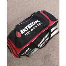 Ektelon Racquetball X-Large Tour Duffle Play with Fire Gear Bag Red Black