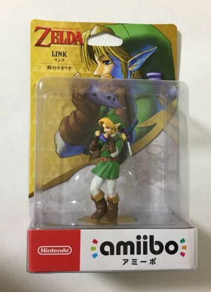 The Legend Of Zelda - 30th Ocarina of Time LINK Amiibo Figure -  BRAND NEW!