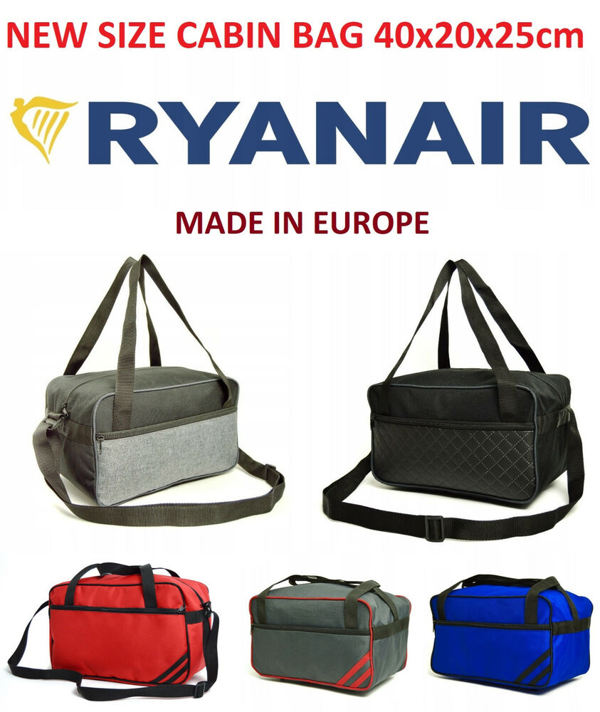 Made In Eu Ryanair New Size 40 X 20 X 25 Luggage