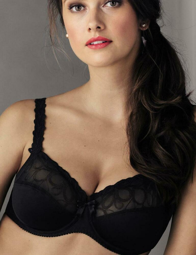 Details about Rosa Faia by Anita Lupina Underwired Bra 5627 Black 91abbd674