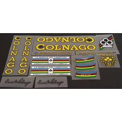 Colnago Super Bicycle Decal Set  (sku Coln-S103)