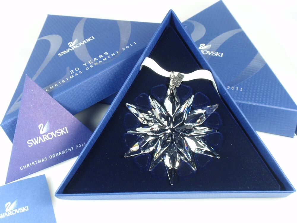SWAROVSKI CHRISTMAS ORNAMENT 2011 MIB #1092037 | eBay