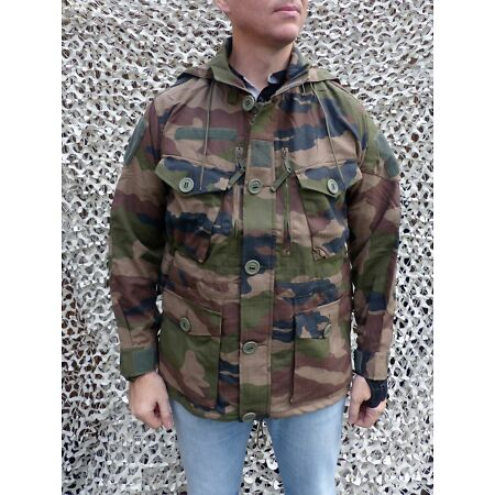 img-Genuine Félin jacket french army military Central European camouflage summer