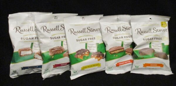 Russell Stover  Sugar Free Chocolate Candy/Candies {YOU CHOOSE FLAVOR}