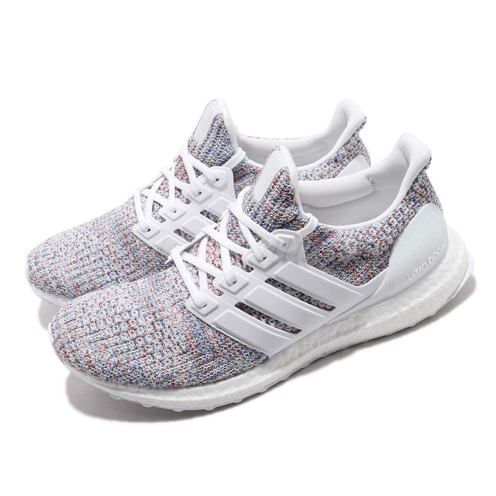 c56fa80a8 Details about NEW Adidas UltraBOOST 4.0 DB3198 White Multi-Color 2 Men  Running Shoes Sneakers