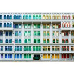 Old Hill Street Police Station Singapore Photo Art Print Poster 24x36 inch