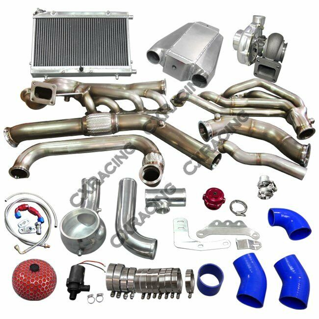 CX Turbo Header Manifold Intercooler Heat Exchanger Kit